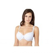 White Spotted MEsh T-shirt bra